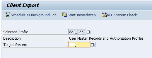SAP Client Copy - Local, Remote & Import / export 1