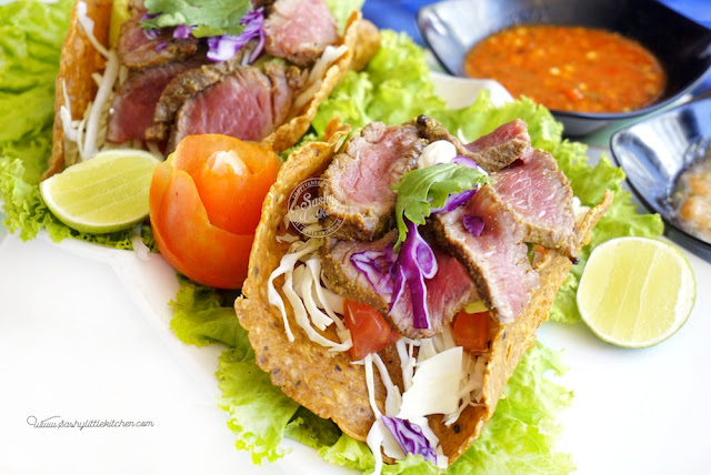 Steak Taco by Taco Beach Grill Seminyak