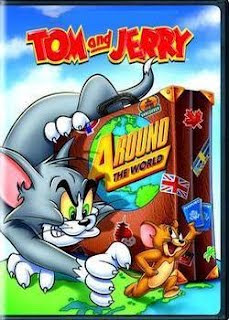 Download Tom & Jerry Ao Redor do Mundo Dublado   DVD R 
