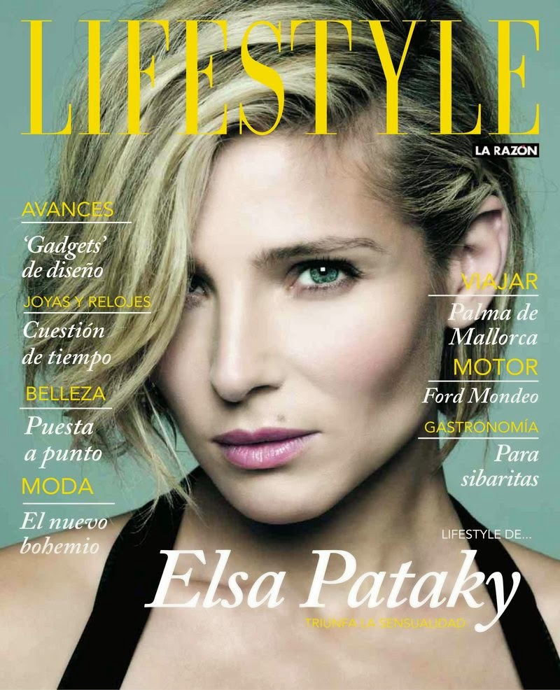 Elsa Pataky - Lifestyle Magazine, Spain, December 2014