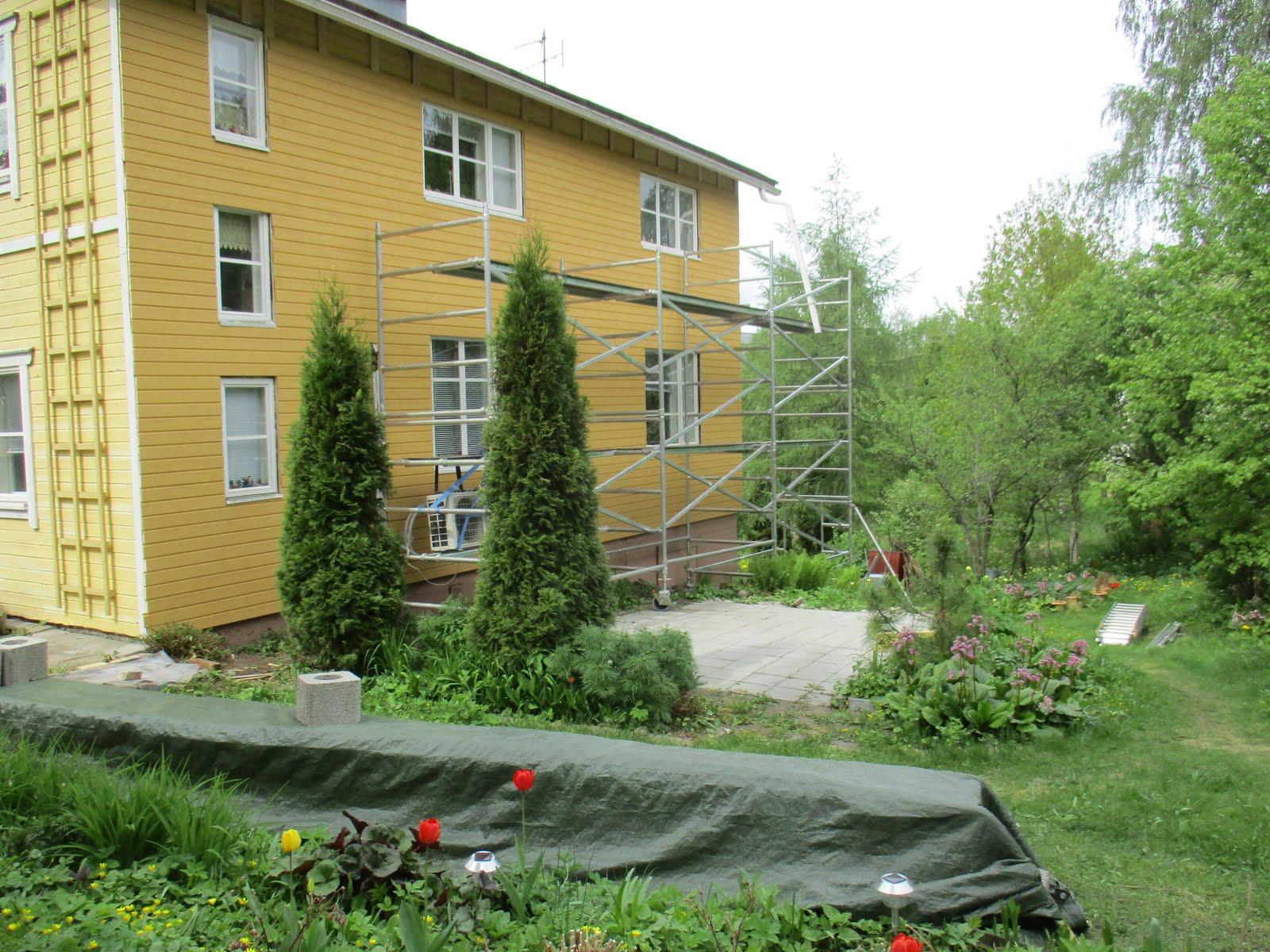 Talo saa uuden ulkoverhoilun keväällä 2016