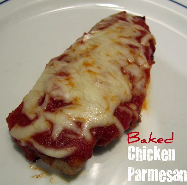 Baked Chicken Parmesan - Whats Cooking Love?