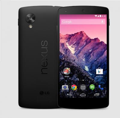 Google lanzó el Nexus 5 disponible desde hoy en Google Play