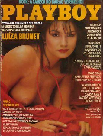Luiza Brunet - Fotos Playboy 1984