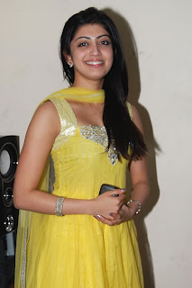 Tamil Actress Praneetha Hot in yellow Dress Photos