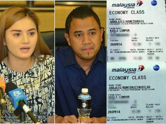 Hanez Saman MAS Kerana Dedahkan Tiket Penerbangan Bersama Kekasih