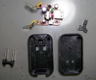 Carregador de Celular quebrado