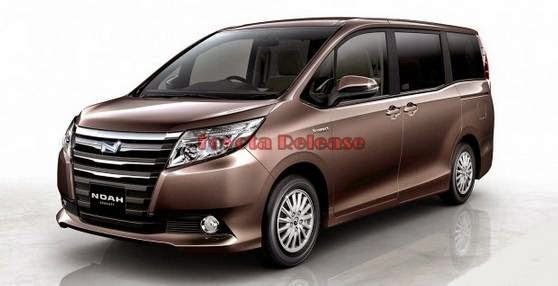 2015 Toyota Noah Space and Review