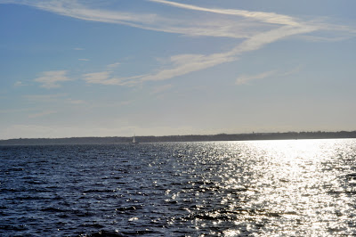 View of Greenwich Bay at Oakland Beach in Warwick, RI - Photo by Taste As You Go