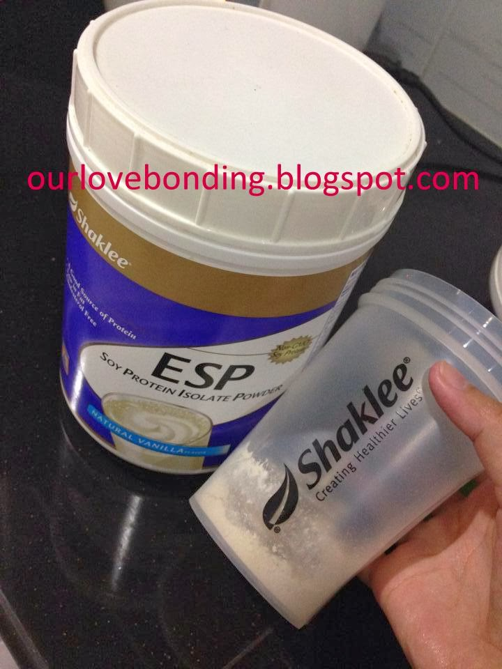 Resepi ESP Shake with Collagen Powder