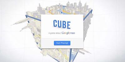Cube: Game dari Google untuk Panduan Google Maps