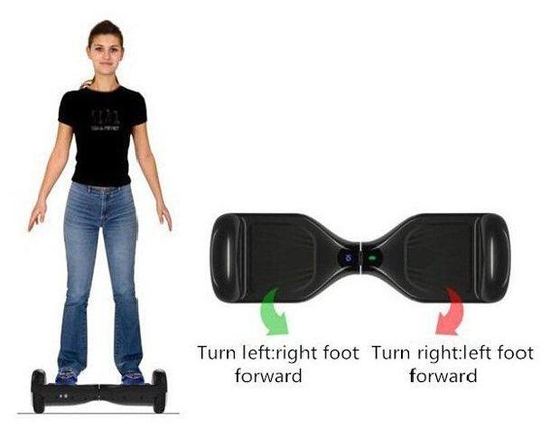 cara menggunakan smart balance wheel