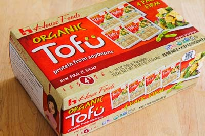 ... oz. tofu packages at Costco, where it's only $5.39 for all this tofu