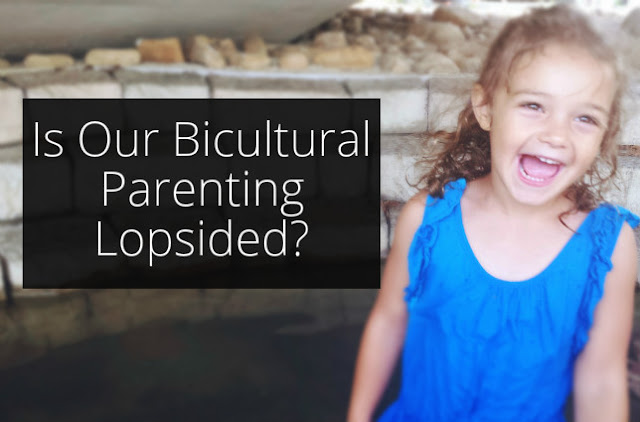 We want to raise bicultural kids. But has our bicultural parenting gotten too lopsided?