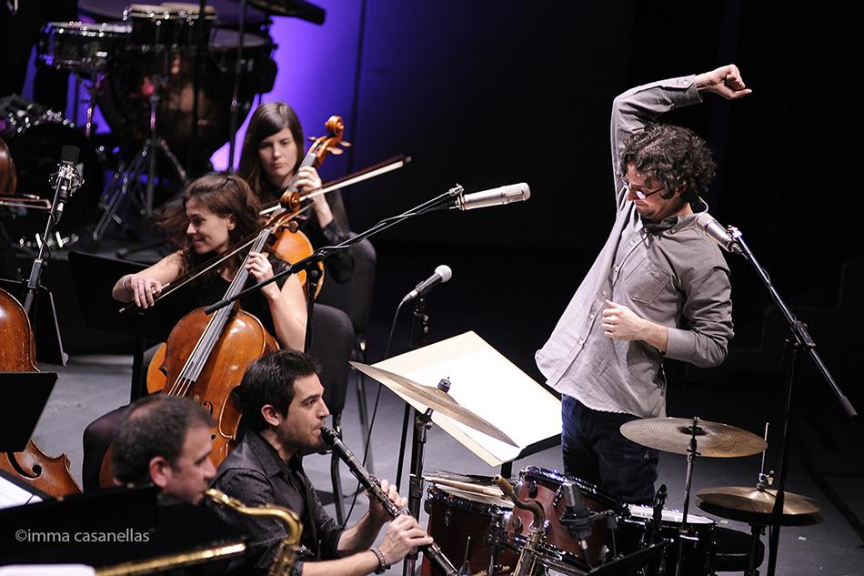 Joan Vidal Sextet + OCGr, Auditori de Granollers, 15-2-2015