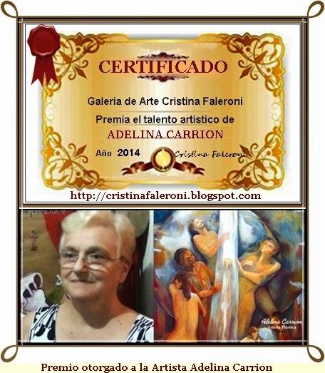 Adelina Carrion - Premio