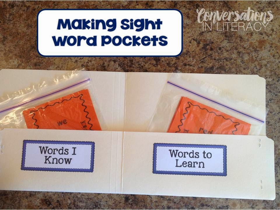Teaching and Differentiating Sight Words