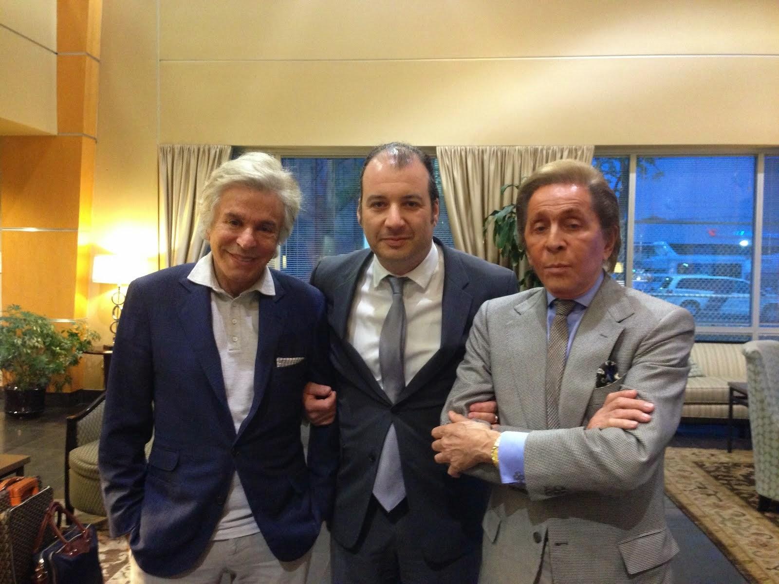 Giancarlo Giametti, Danya Polykov, Valentino Garavani, 05.2014
