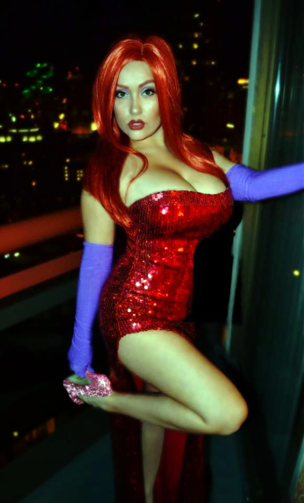 hasslein blog getting into character part seven jean gomez jean as jessica rabbit she s not bad she s just drawn that way