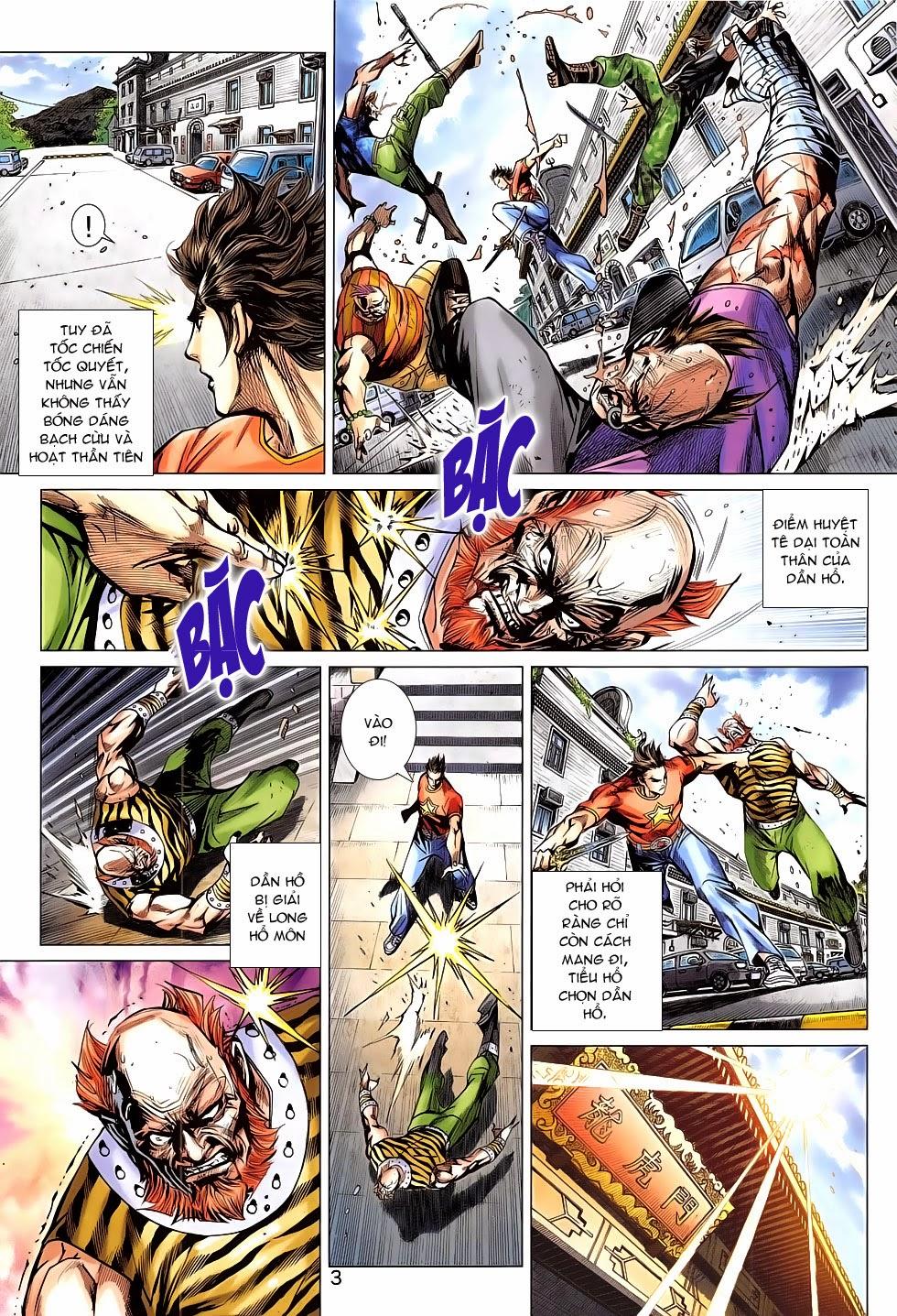 Tân Tác Long Hổ Môn chap 782 Trang 3 - Mangak.info