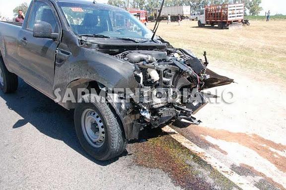 Habría una persona fallecida en el accidente de Ruta 8 Km 151,700