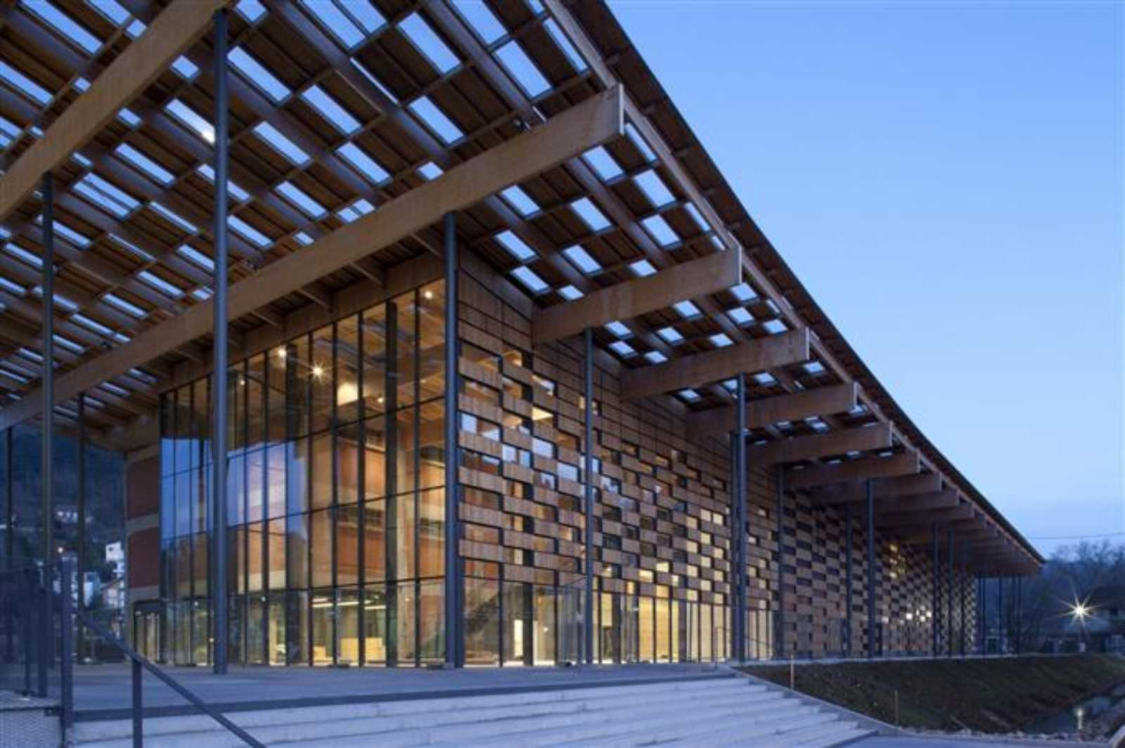Art center and cit de la musique by kengo kuma - Besancon cite des arts ...