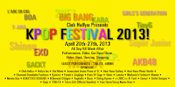 KPOP  festival 4/20 to 4/27