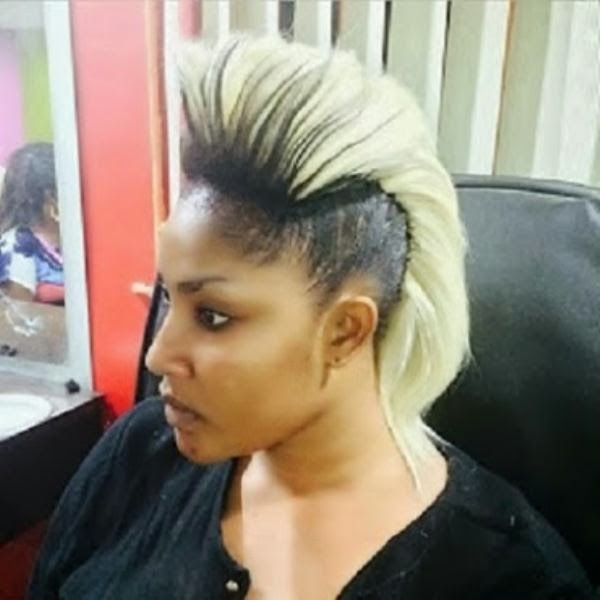 Angela Okorie Rocks Gangster Look