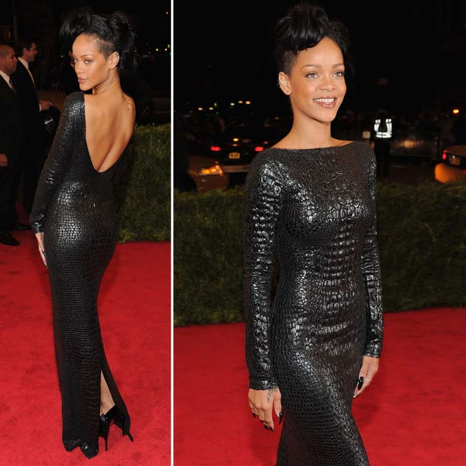 [FOTOS] Rihanna: Metropolitan Museum of Art's Costume Institute Gala 2012 (MET Gala 2012) - New York - 07 de Maio de 2012