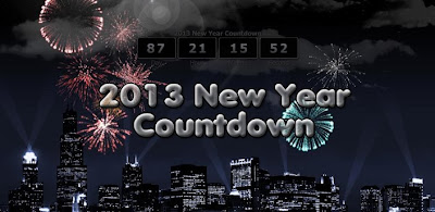 2013 New Year Countdown LWP