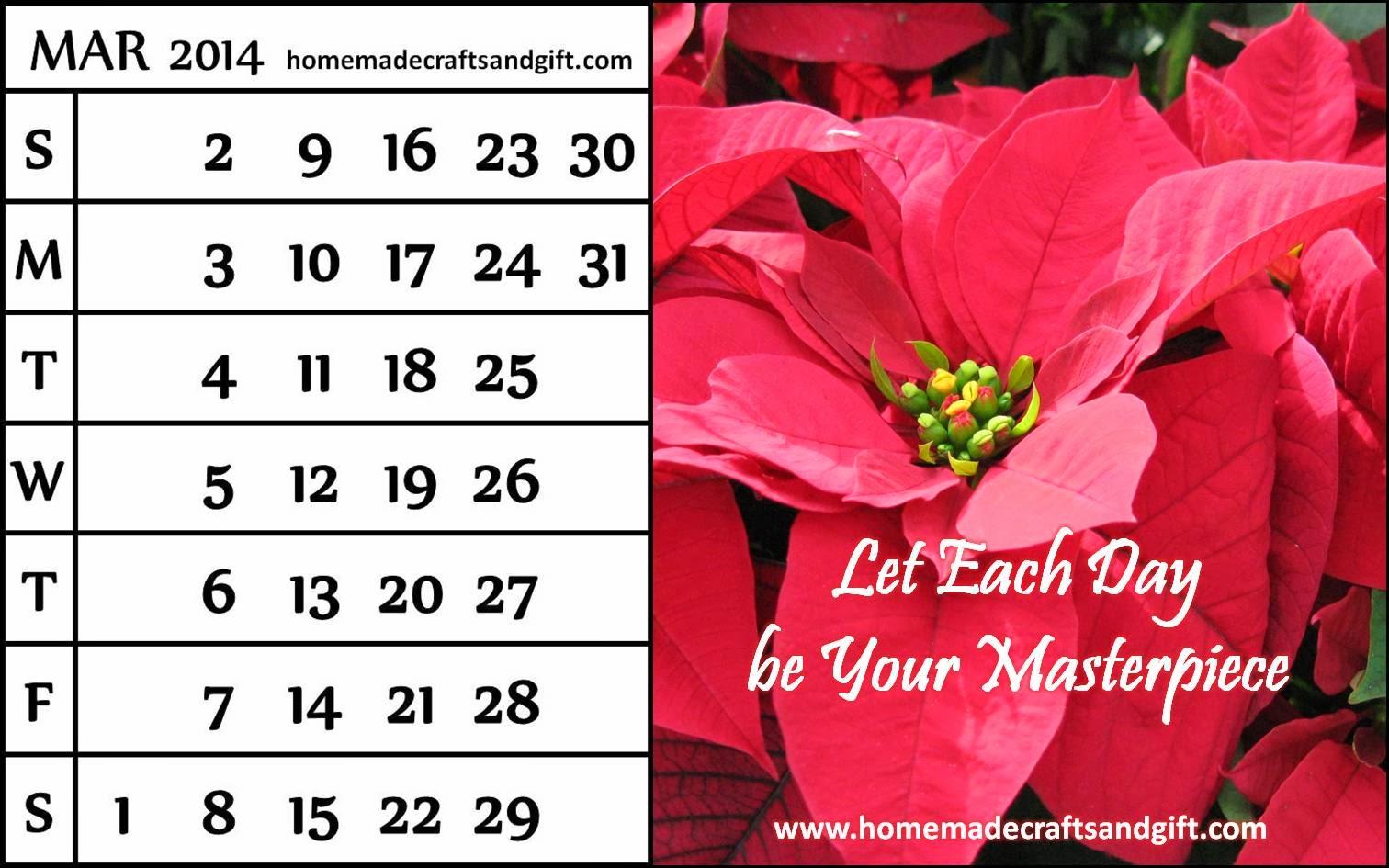 Homemade Calendar Template : Homemade calenders new calendar template site