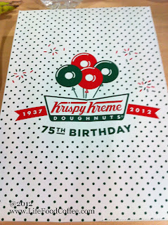 Krispy Kreme, Packaging