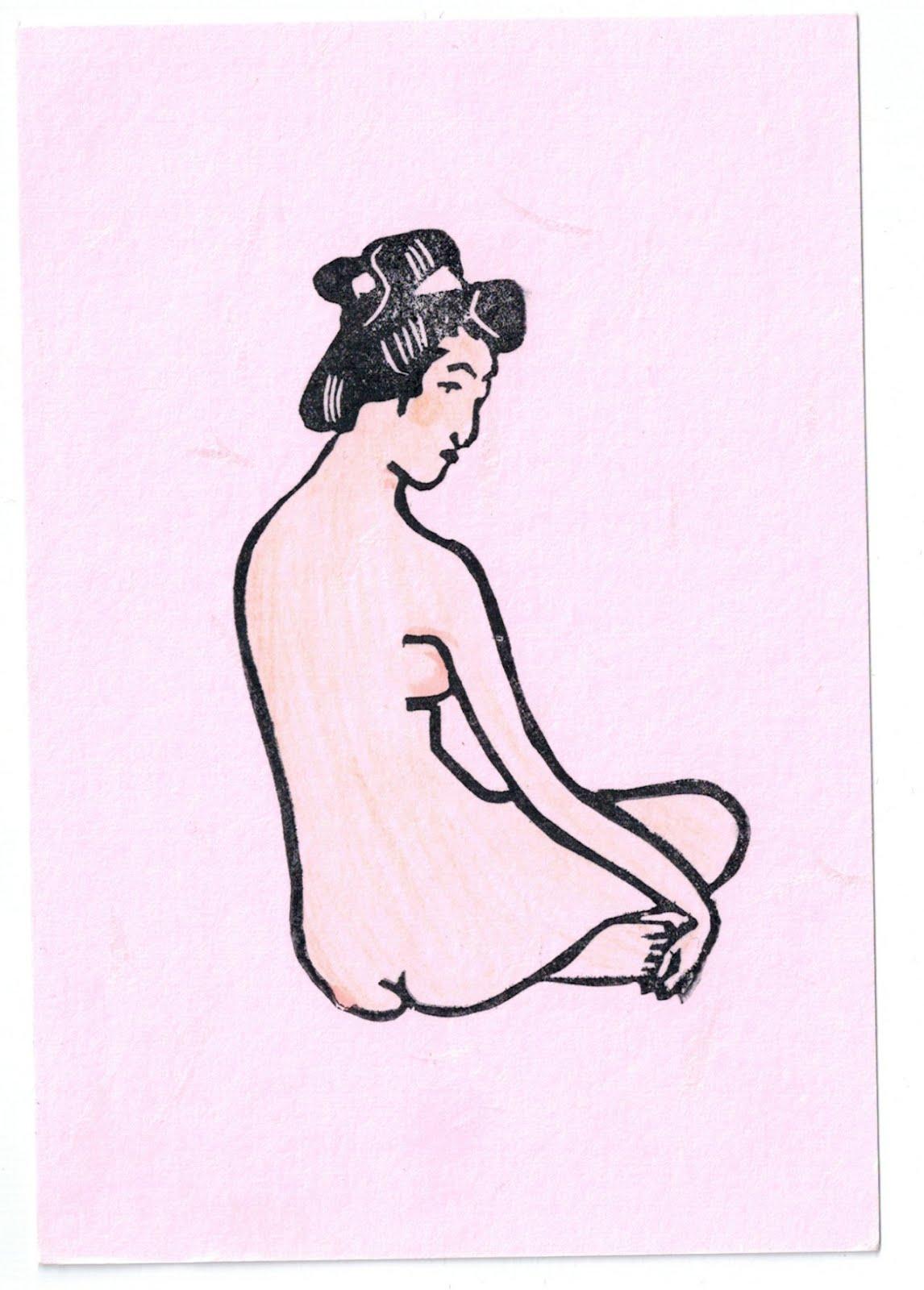 女の子・スタンプ・クラブ girl stamp club