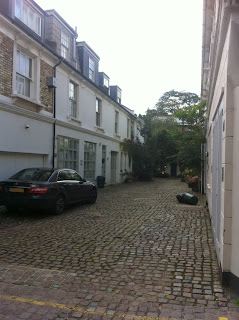 Unknown mews, Kensington, London