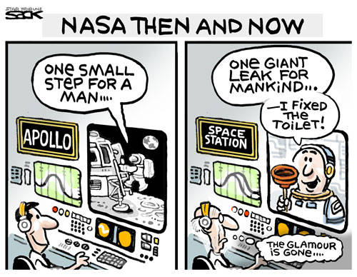 NASA Then and Now