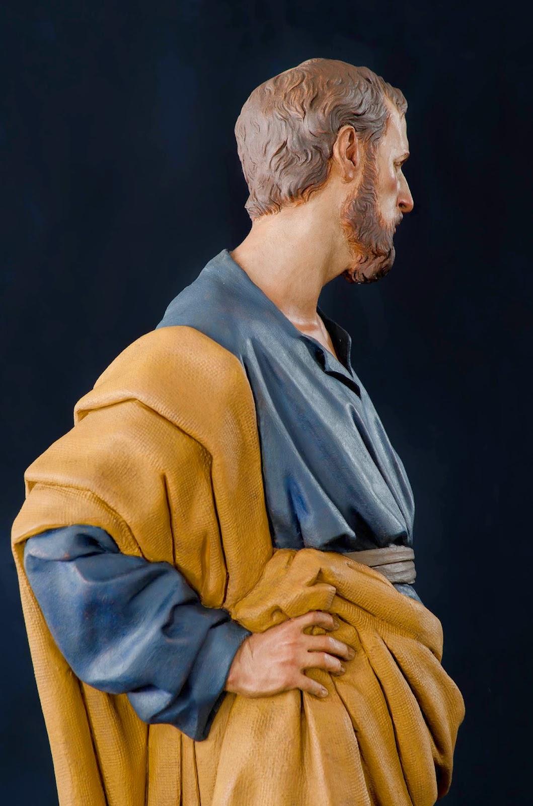 Nacimiento Belén Nativity presepe krippe Arturo Serra Barro cocido 18