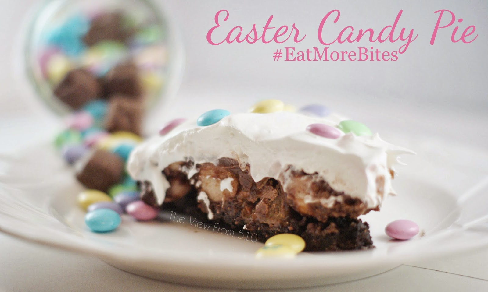 Easter Candy Pie #EatMoreBites #shop #cbias