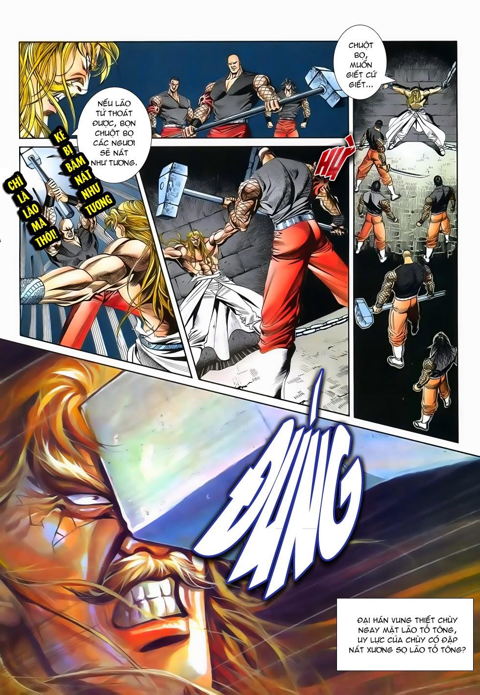Long Hổ Phong Bạo chap 2 - Trang 10