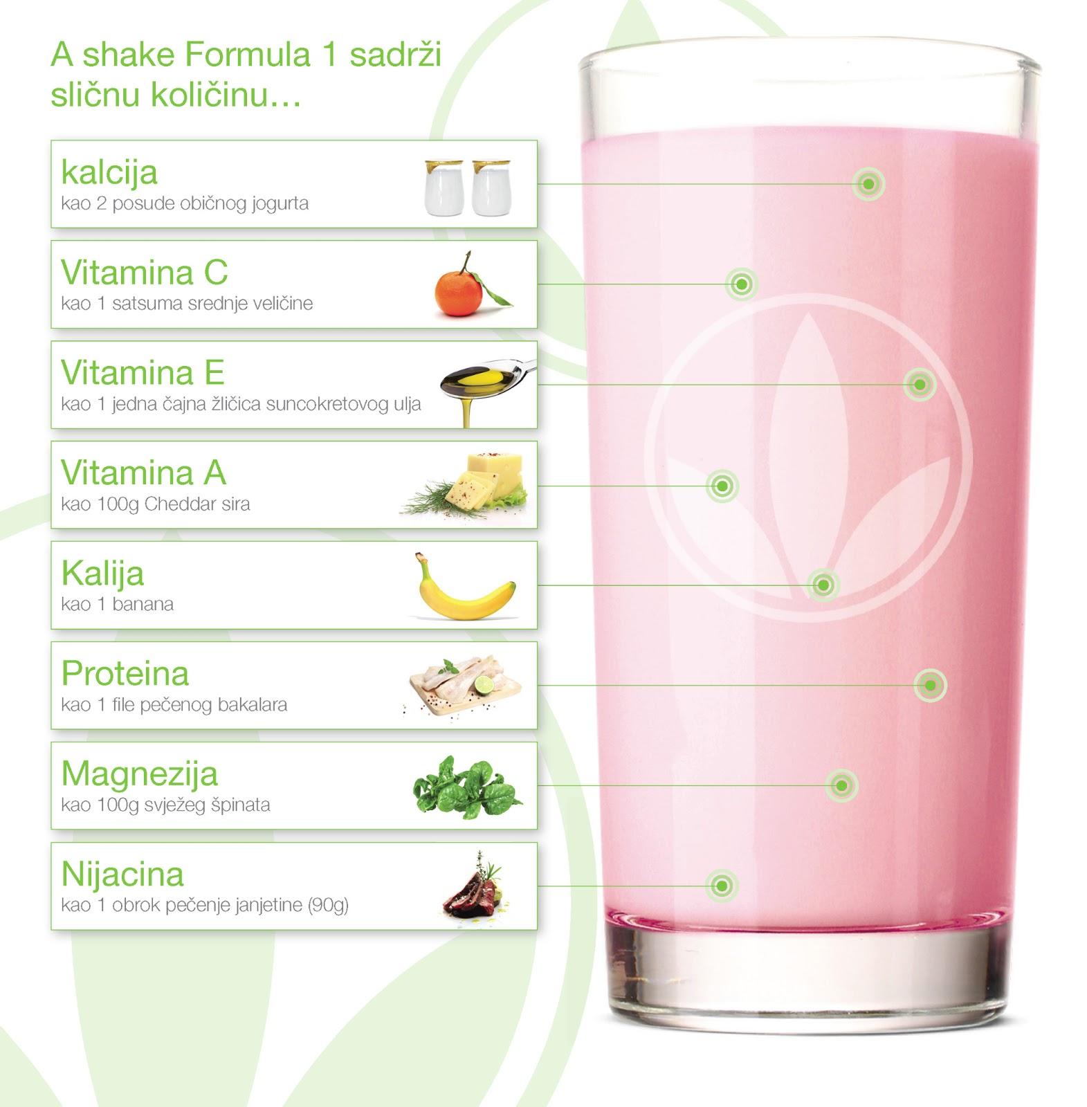 Herbalife shake - zamjenski obrok
