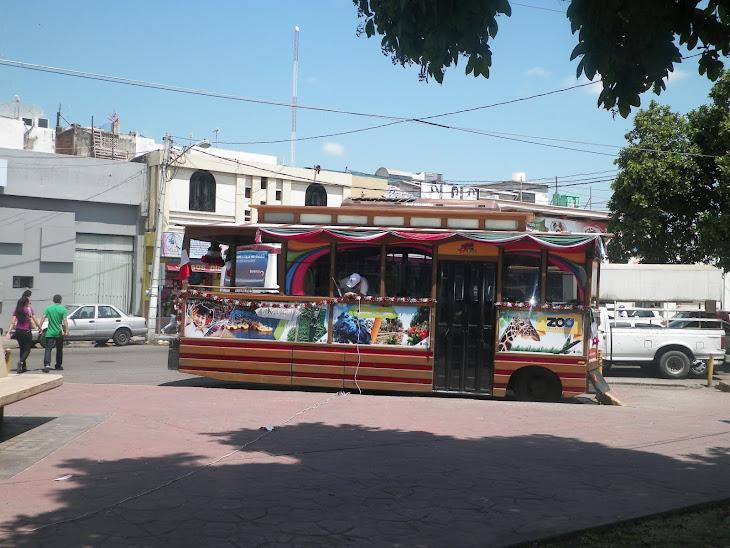 El turibus navideño de Culiacán (RRG2012)
