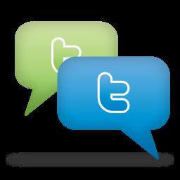 Twitter icon graphic