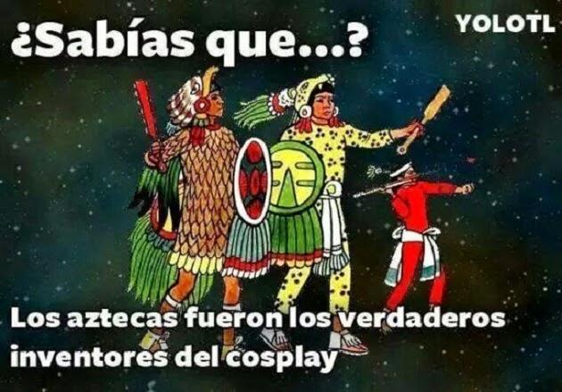 Los inventores del cosplay