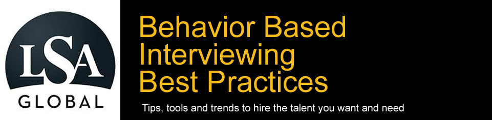 Behavior Based Interviewing Training Blog