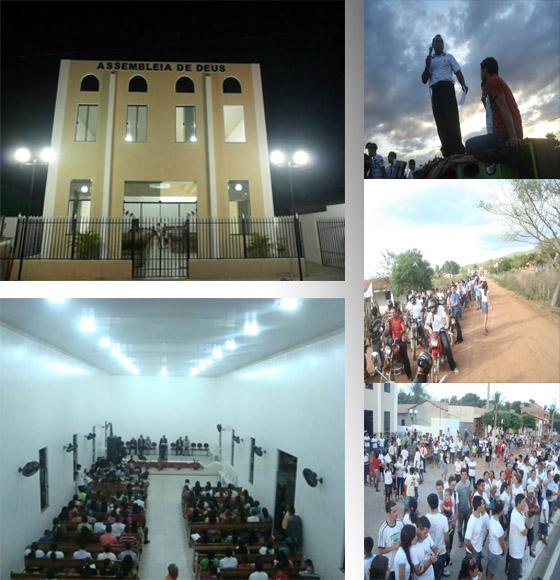 Inauguração da Assembléia De Deus Em Padre Vieira