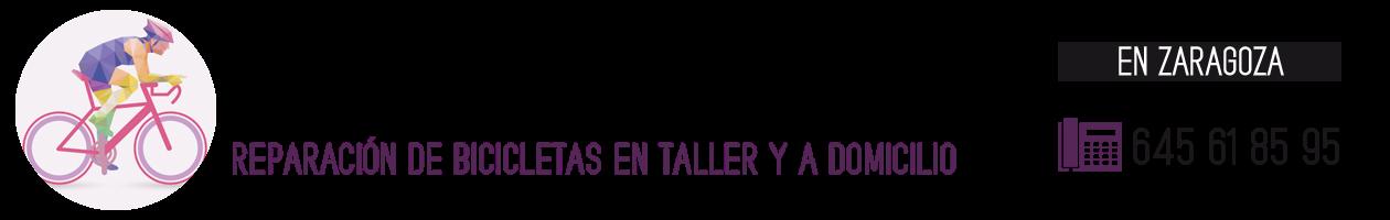 Taller Bicicletas Zaragoza · 645 61 85 95 · Reparación y puesta a punto