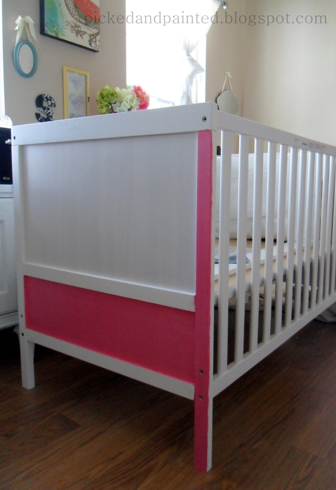 Amanda Was Sweet Enough To Send Me A Few Photos She Took Most Of You Will Probably Wonder Why Someone Would Want Paint Crib Pink Not