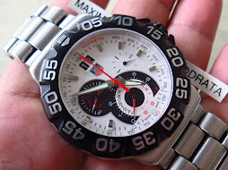 TAG HEUER FORMULA1 CHRONOGRAPH WHITE DIAL