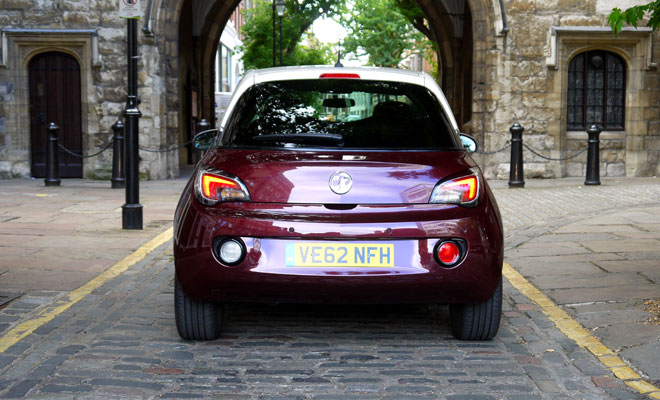 Vauxhall Adam rear view