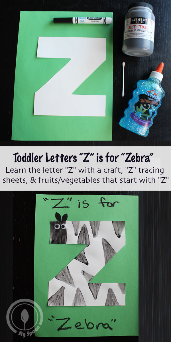 Toddler/Preshooler Letter Of The Week Craft Z Is For Zebra With Related  Craft,