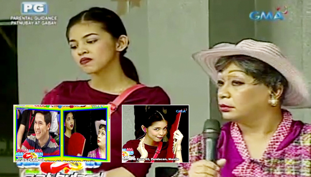 Yaya Dub was scolded by Donya Nidora, because of her flirting with Alden Richards